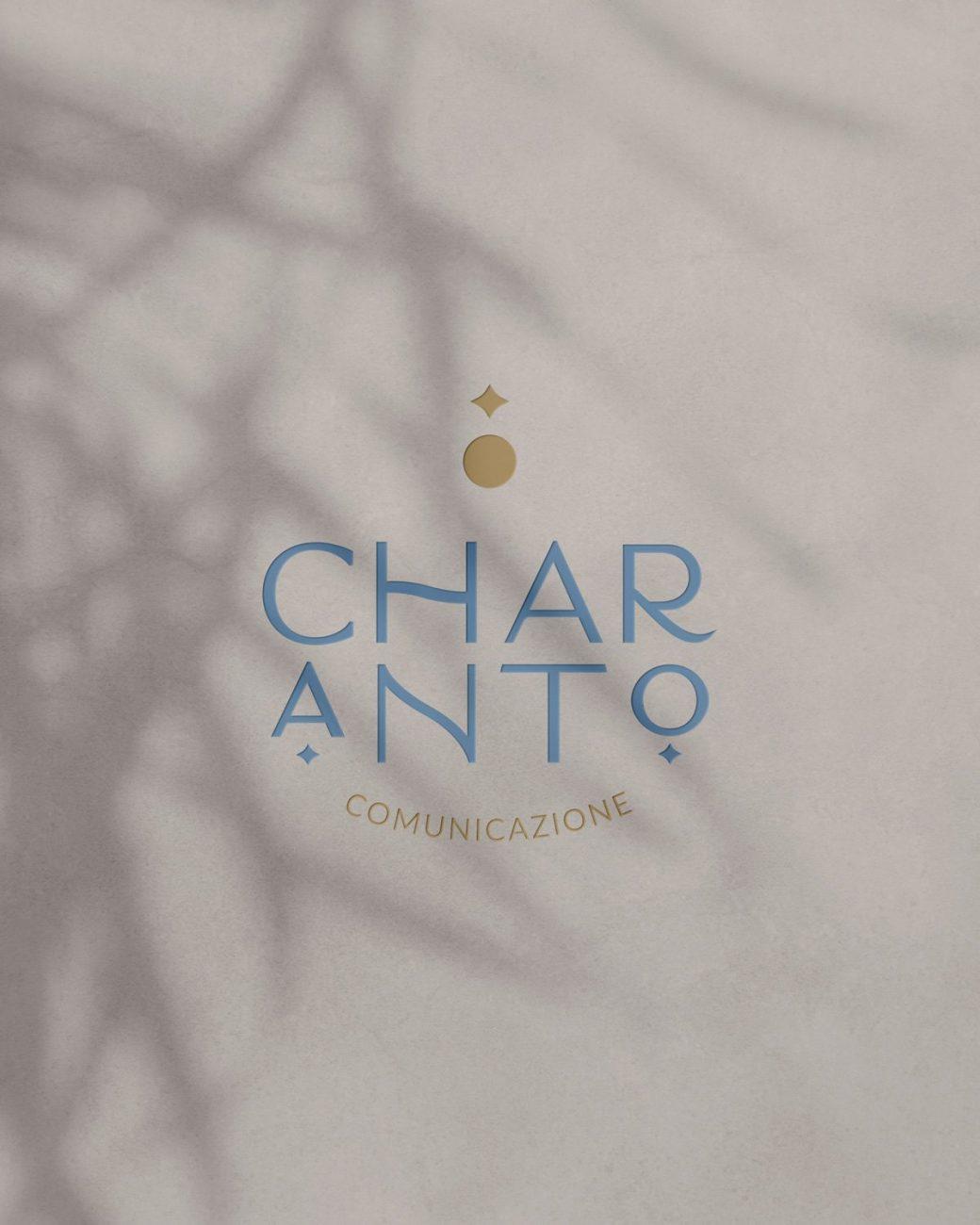 CHARANTO logo design copertina