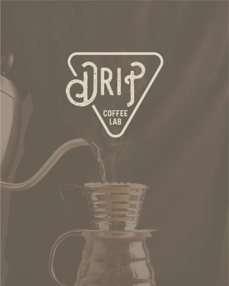 Drip logo design rikaformica